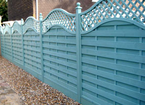 Photograph of decorative Fencing