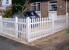Photograph of a Picket Fence